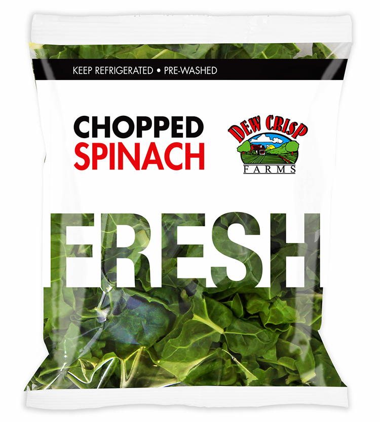 chopped-spinach